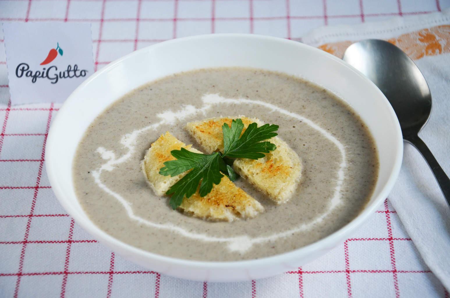 Рецепт грибной крем суп пошагово