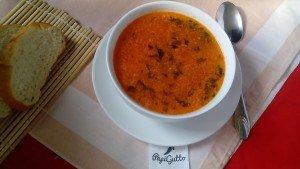 Томатный суп 10
