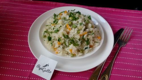Ризотто (рис с овощами)