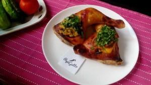 Куриные бёдра жареные 7