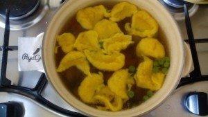 Суп з кльоцками 9