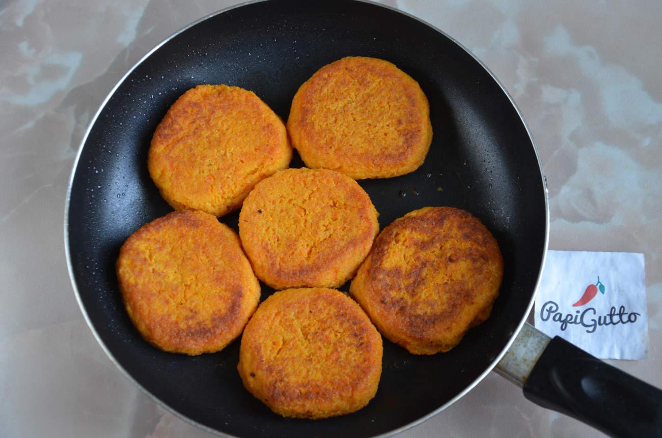 Морковные котлеты классический рецепт пошагово
