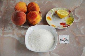 Варенье из персиков 1