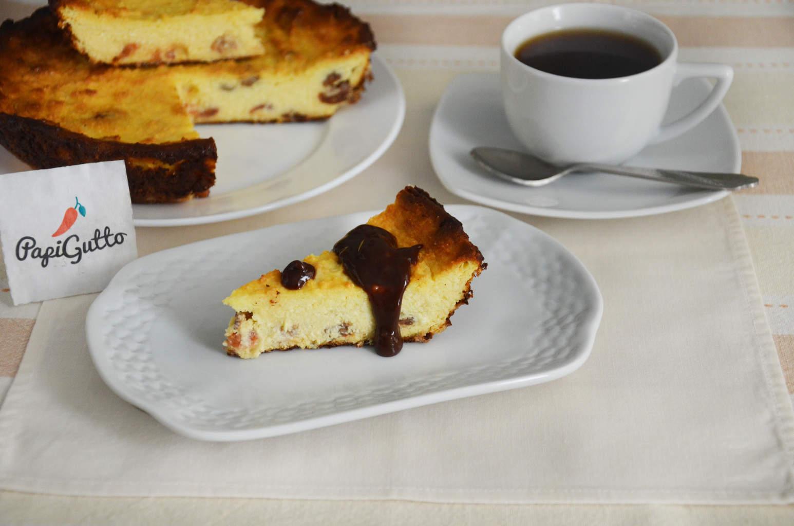 Пошаговый рецепт творожной запеканки с ягодами фото