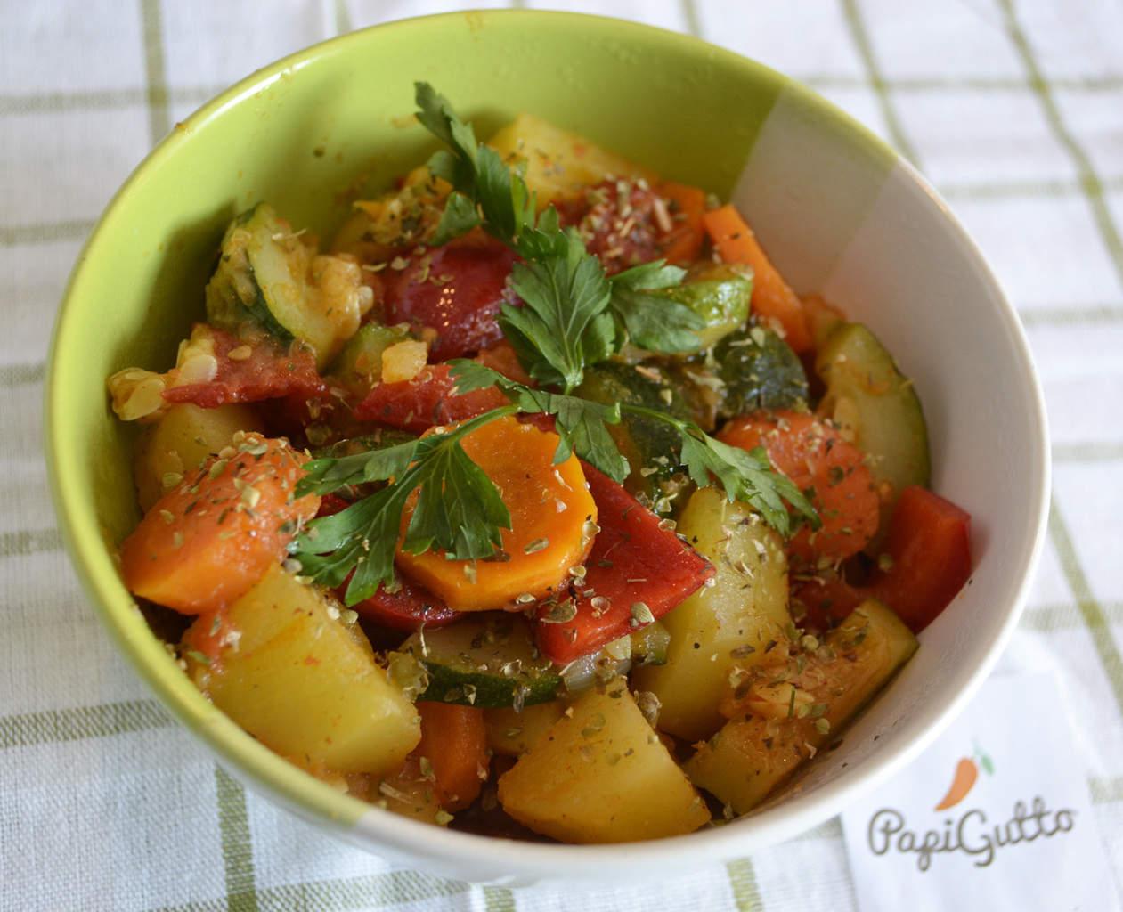 Рецепты приготовления овощного рагу пошагово