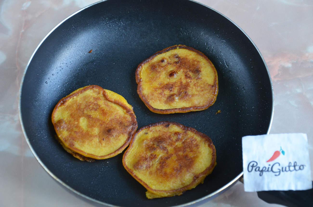 Рецепт: Оладьи из печени на m 21