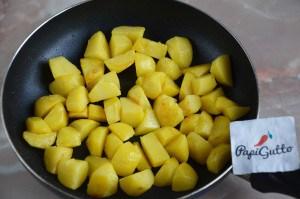 Оджахурі (Смажена картопля з м'ясом) 2