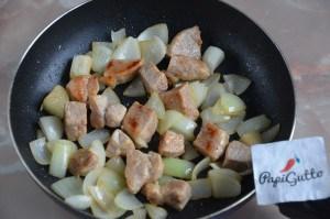 Оджахурі (Смажена картопля з м'ясом) 4