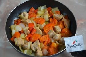 Оджахурі (Смажена картопля з м'ясом) 5
