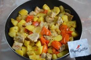 Оджахурі (Смажена картопля з м'ясом) 6