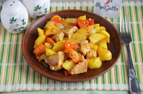 Оджахурі (Смажена картопля з м'ясом)