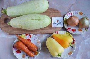 Салат из кабачков на зиму 1