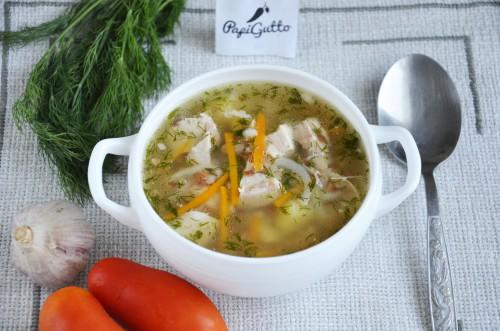 Гречневый суп