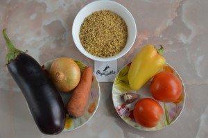 Булгур, каша с овощами 1