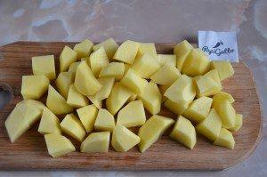 Тушеная картошка с мясом 2