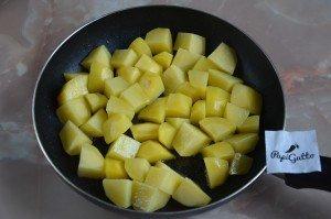 Тушеная картошка с мясом 6