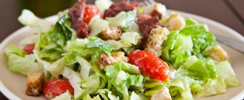Чем можно заправлять салат не используя майонез