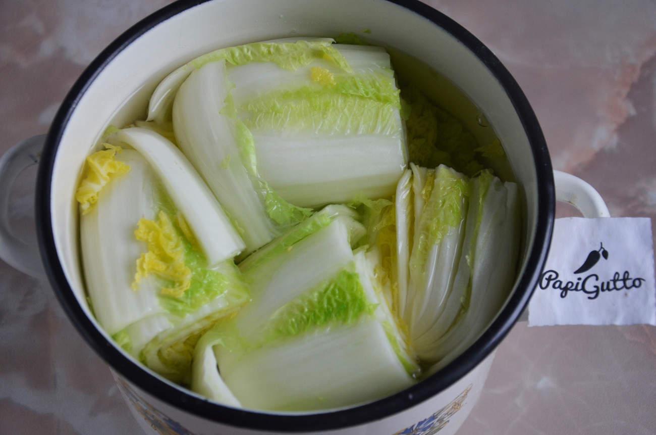 Капуста по-корейски рецепт фото пошагово