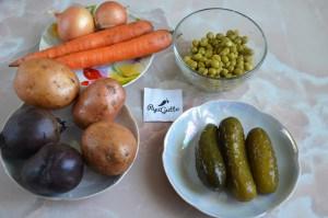 Салат вінегрет 1