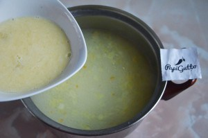 Чихиртма (грузинский куриный суп) 9
