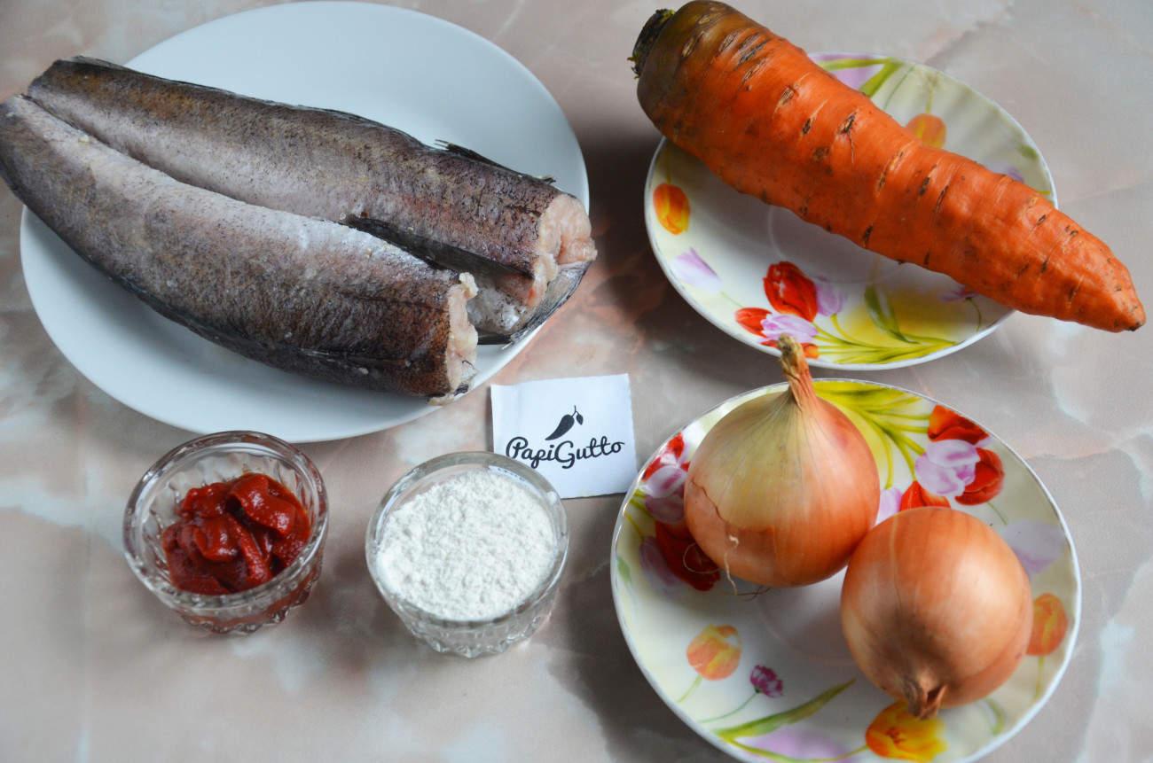 рецепты приготовления хека в духовке