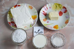 Сирний крем для торта 1
