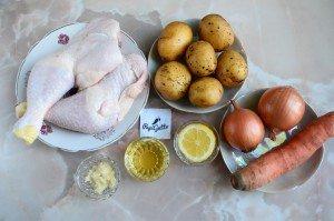 Куриные окорочка в духовке 1