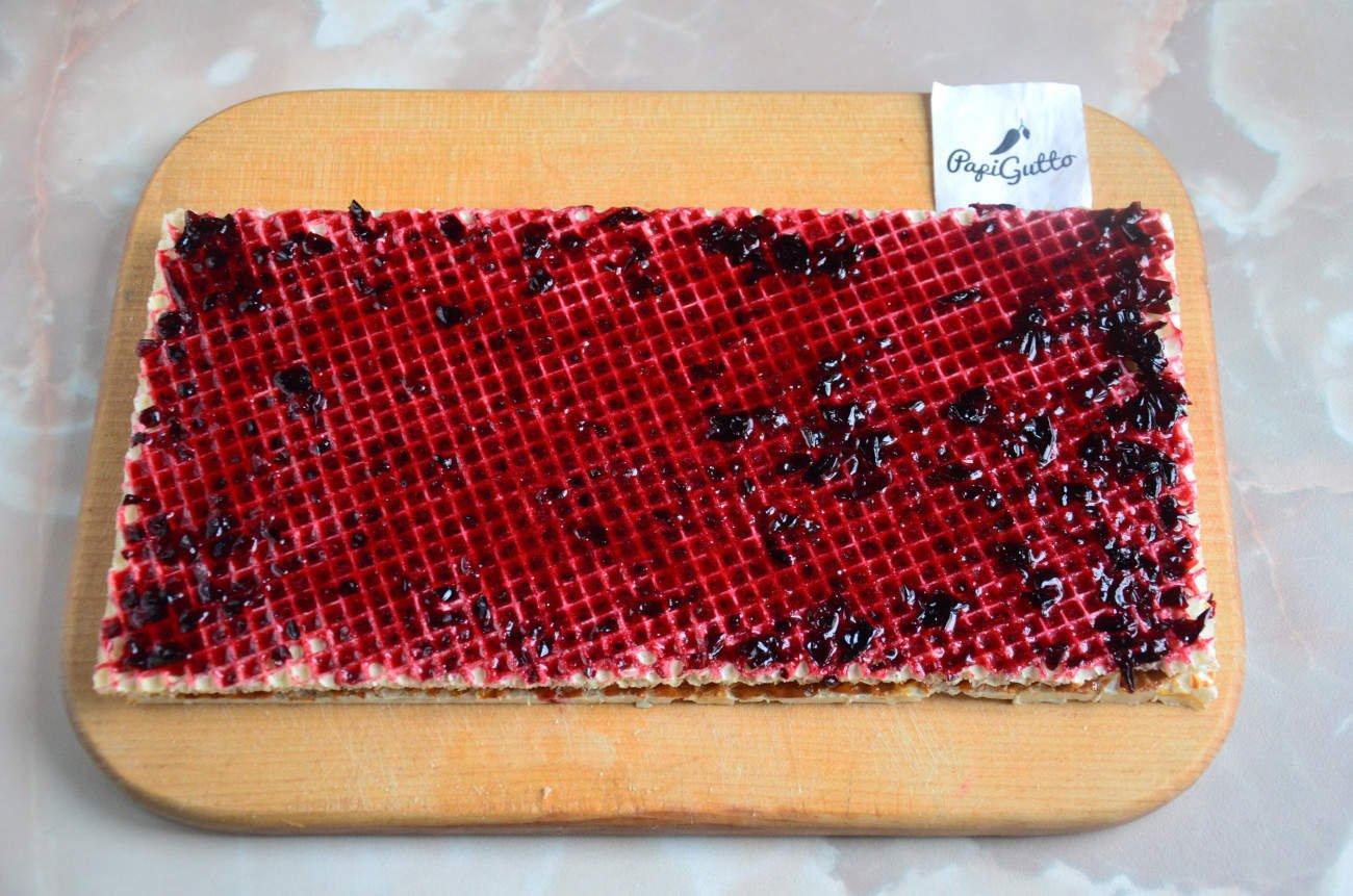 Вафельный торт пошаговый рецепт с фото