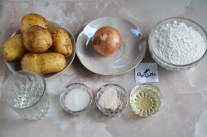 Пиріжки з картоплею 1
