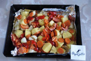 Запеченные овощи 8