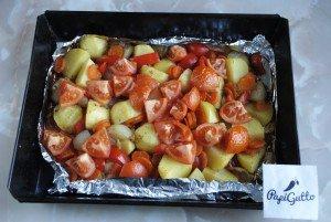 Запеченные овощи 11