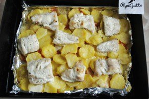 Рыба запеченная с овощами 9