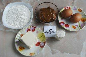 Печенье орешки со сгущенкой 1