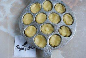 Печенье орешки со сгущенкой 6