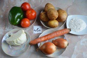 Овощная запеканка 1
