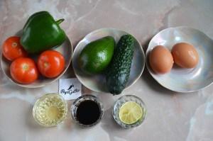 Салат с авокадо 1