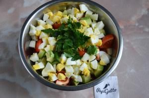 Салат с авокадо 10
