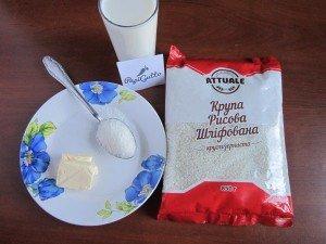 Молочная рисовая каша 1