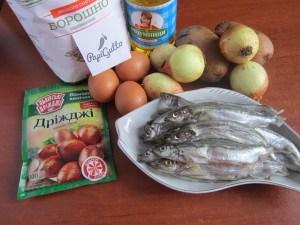 Рыбный пирог 1