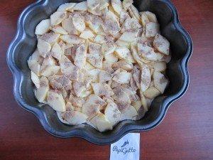 Постный пирог с яблоками 9