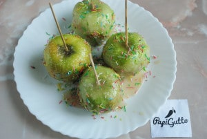 Яблоки в карамели 6