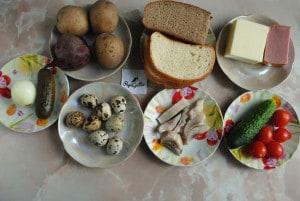Канапе — закуски на шпажках 1