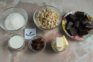 Домашние конфеты с шоколадом 1