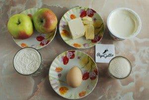 Цветаевский яблочный пирог 1