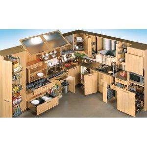 Кухня: организовываем рабочее место