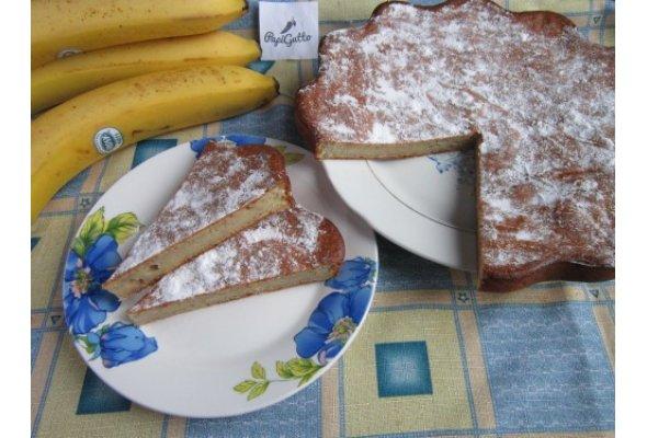 Банановий пиріг