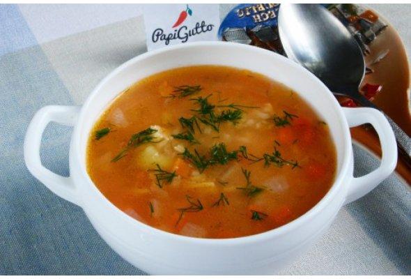Рисовый суп