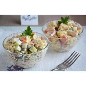 Салат із сухариками