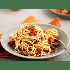 Рецепт: Секреты правильного приготовления спагетти