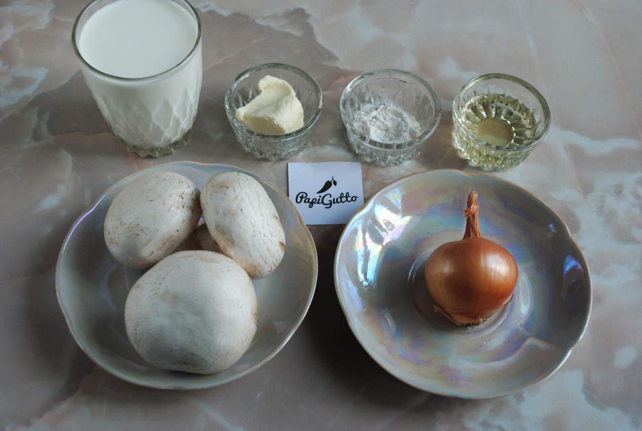 Сливочно грибной соус 1